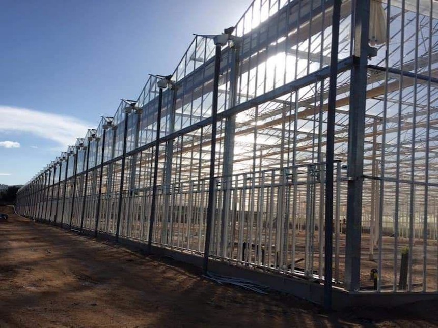 Greenhouses and glasshouse constructions project - Italy Puglia Artigianfer Group