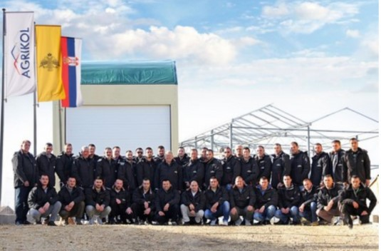 Greenhouses and glasshouse constructions project - Agrikol in Horty Daily magazine – Training centre